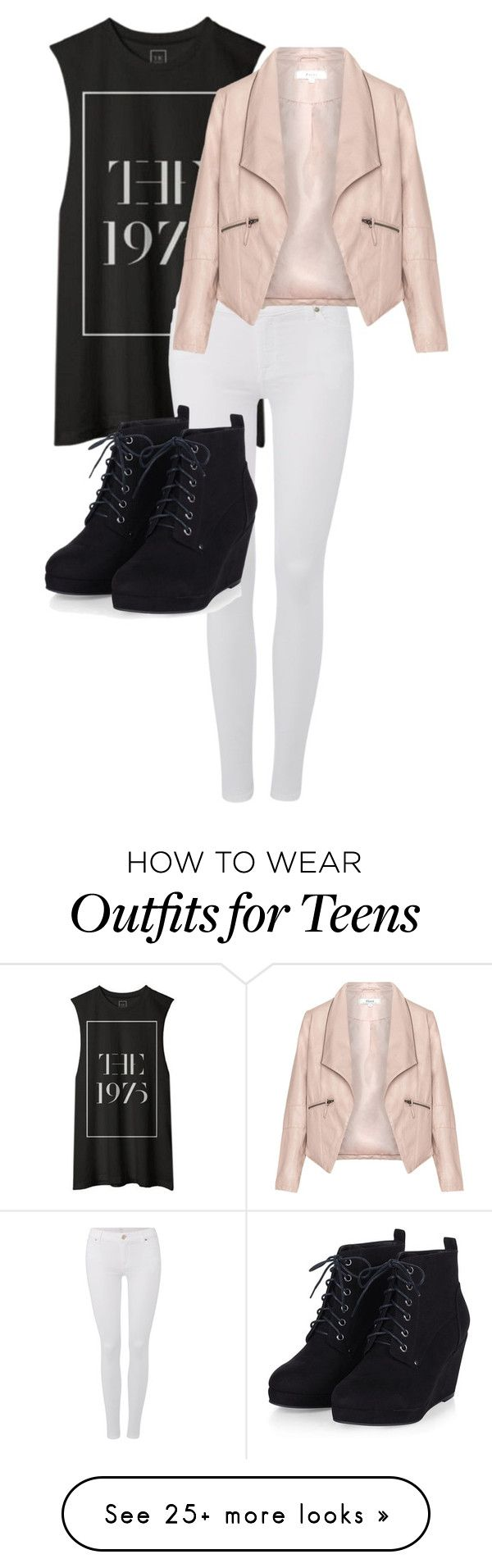 """""""Untitled #107"""" by lbrownmonson on Polyvore featuring 7 For All Mankind, Zizzi, women's clothing, women, female, woman, misses and juniors"""