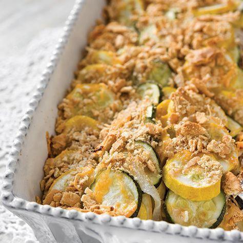 zucchini and squash casserole