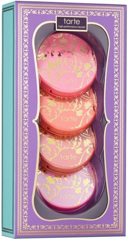 Chic To Cheek Deluxe Amazonian Clay Blush Set is an exclusive deluxe gift set featuring Tarte's award-winning, celebrity-favorite blushes in 4 limited-edition shades. A $56 value!. $35