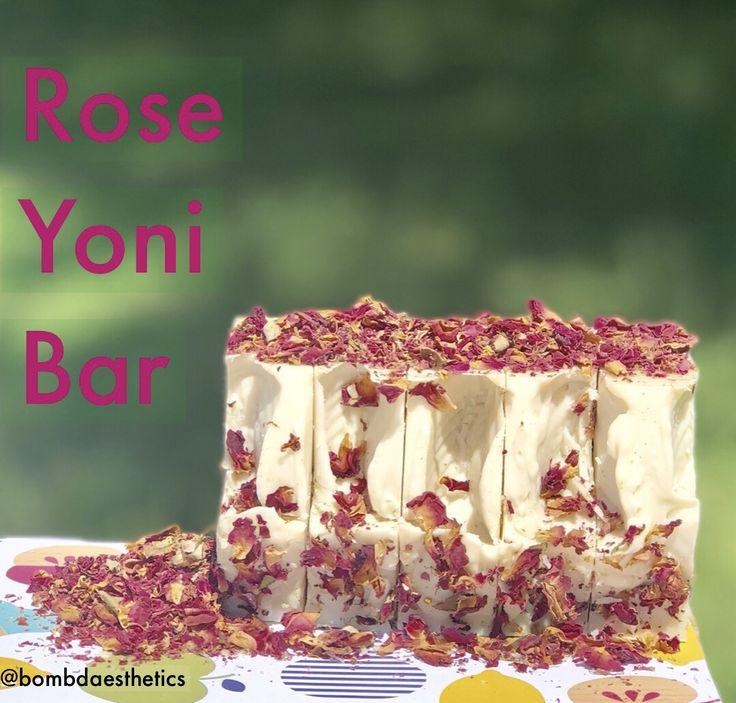 Rose yoni bar in 2020 diy soap bars homemade soap
