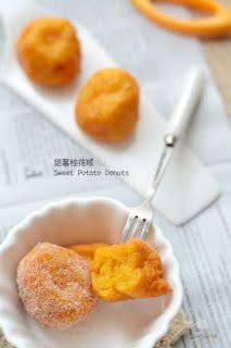 甜薯桂花球  Sweet Potato Donuts