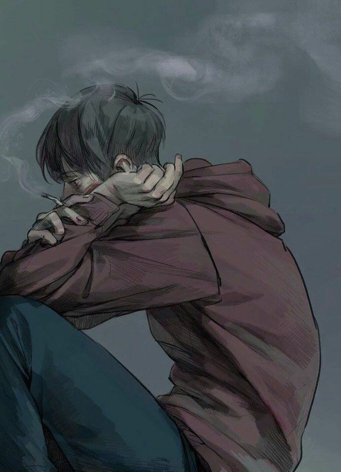 Pin On Lonely Guy Wallpapers Lonely anime boy wallpaper iphone