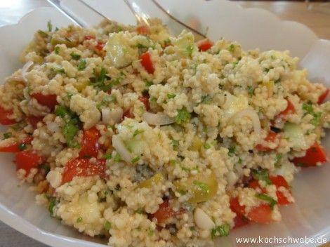 Taboulé - arabischer Couscous Salat