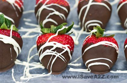 Perfect for Summer time!!! Chocolate covered strawberries recipe #Summer #Kids #Recipes