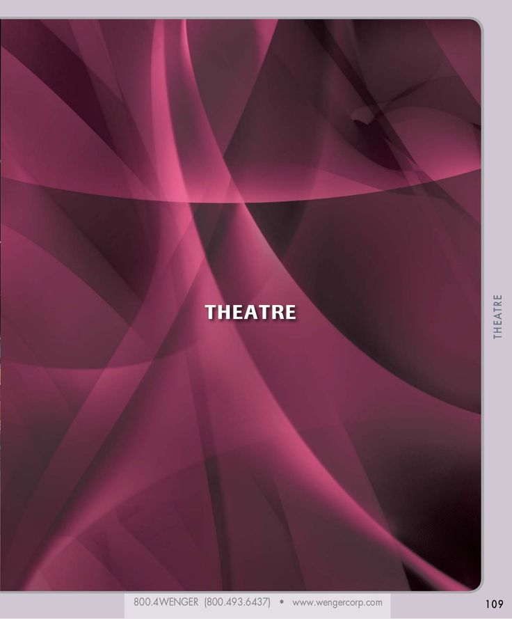 Education Catalog Theatre Products by WengerCorporation via slideshare