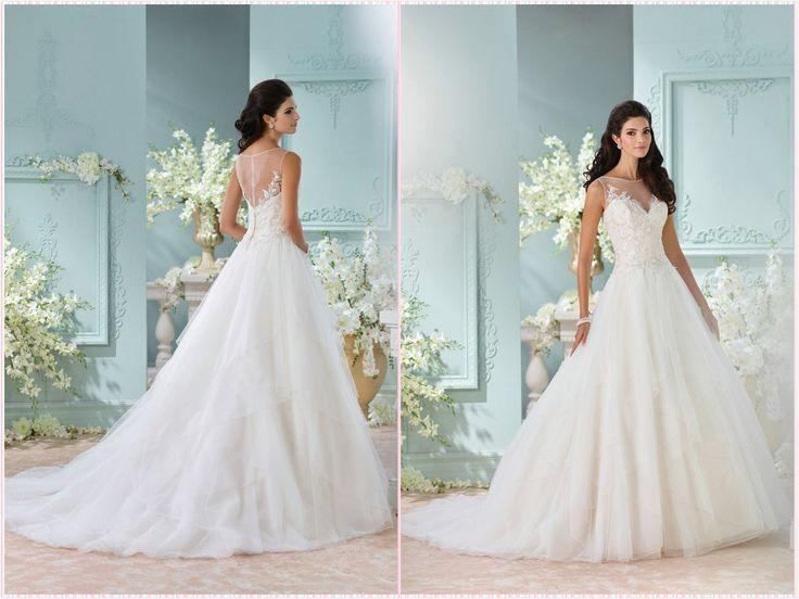 114 best Aline Wedding dresses images on Pinterest   Short wedding ...