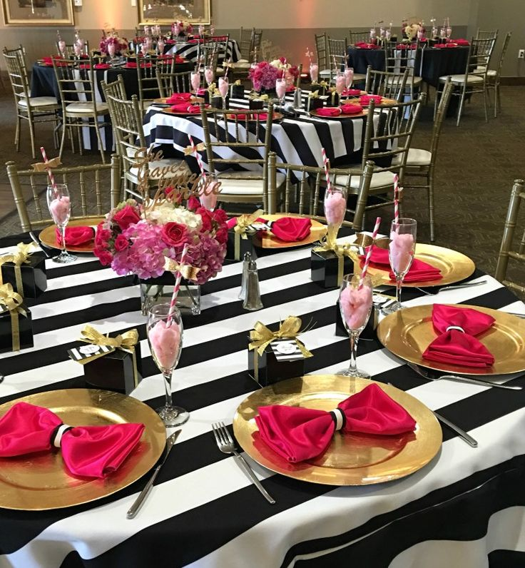 Kate Spade Inspired Party Theme Ideas Part 16