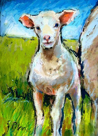 New LIfe by Susan Pitcairn Pastel ~ 8 x 6