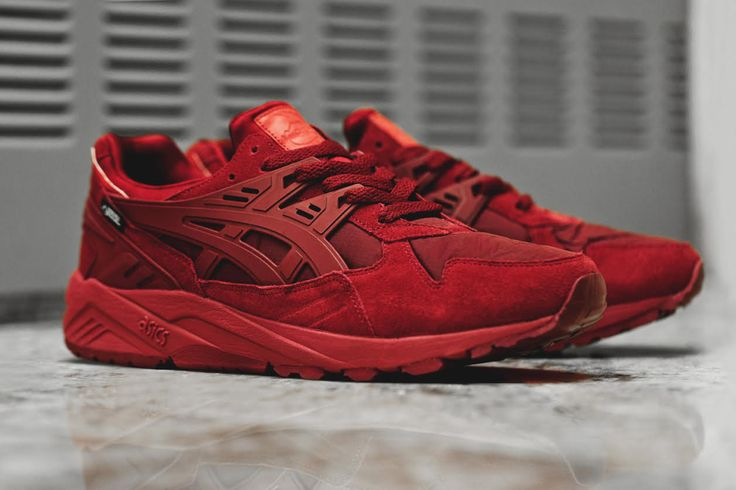 Asics Kayano Trainer Triple Red