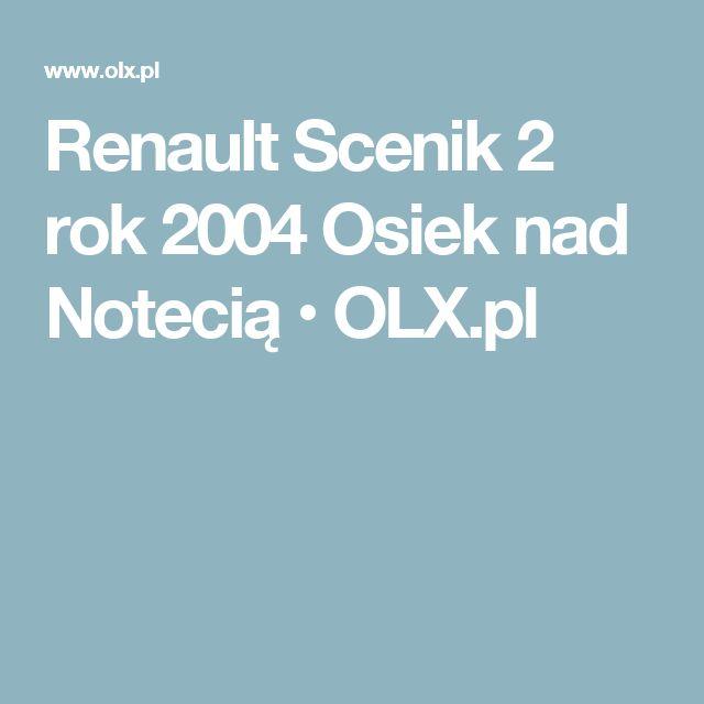 Renault Scenik 2 rok 2004 Osiek nad Notecią • OLX.pl