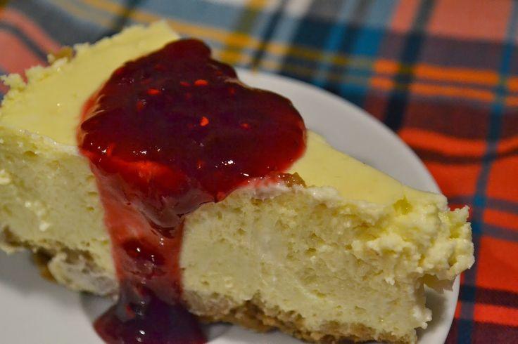 New York Style cheesecake recipe Receta de cheesecake original