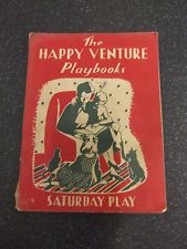 THE HAPPY VENTURE PLAYBOOK 2  by FRED J.SCHONELL ** SATURDAY PLAY ** PAPERBACK