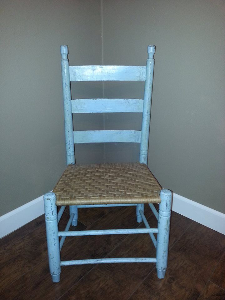 High Quality Ladder Back Chair Vintage Ladder Back Chair Shabby Chic Chair Cottage Chic  Chair Childs Ladder Back Chair Nursery Decor Shabby