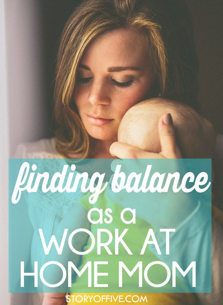 Finding Balance as a Work At Home Mom. 4 Actions You Need to Take. Click to read or pin and save for later.