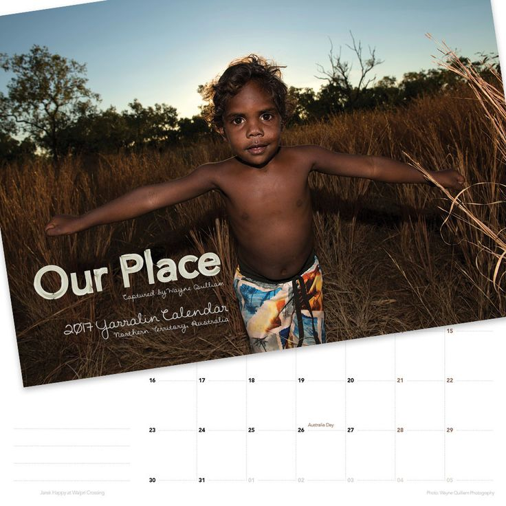 5 x 'Our Place' 2017 Yarrlin Calendars for $100