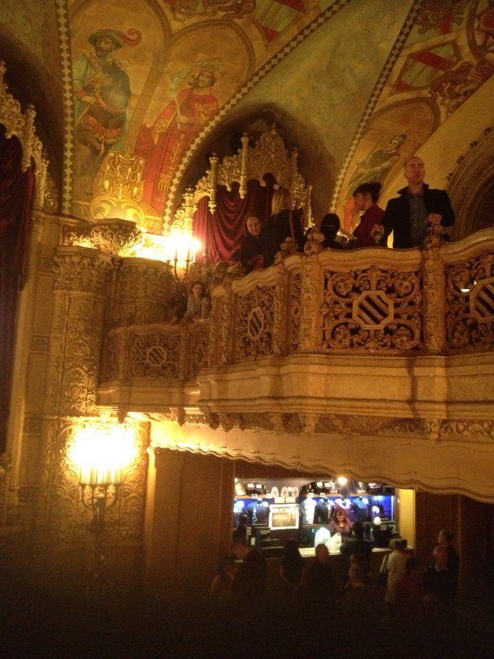 Regent Theatre Balcony, Melbourne