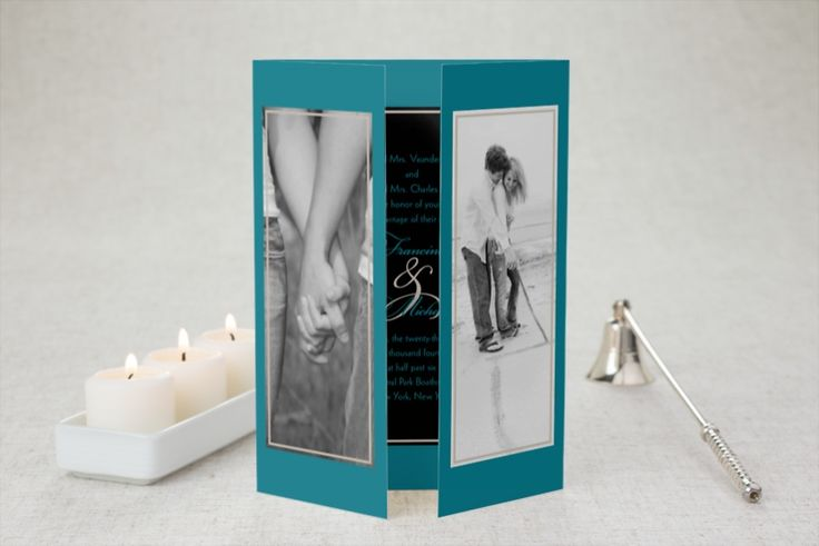 Vision of Love - Gate-fold Wedding Invitation by MagnetStreet