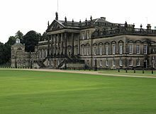 An existing Jacobean house was entirely rebuilt by Thomas Watson-Wentworth, 1st Marquess of Rockingham (1693–1750), and then reduced to the status of a mere wing by the immense scale of the new great addition made by his son the 2nd Marquess, who was twice Prime Minister, and who established at Wentworth Woodhouse an important Whig powerhouse. In the 19th.c. it was inherited by the Earls Fitzwilliam, who owned it until 1989, having profited greatly from the great quantities of underground…