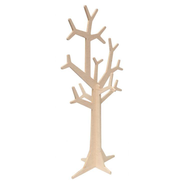 Standgarderobe 'Baum' natur H148cm
