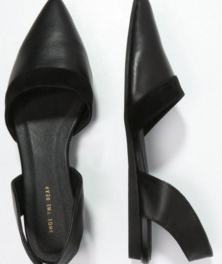 Shoe The Bear Półbuty wsuwane black