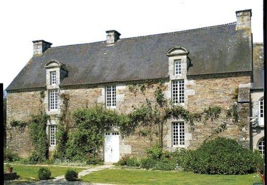 Manoir du Botrain (XVIIIe siècle), Mûr-de-Bretagne, Côtes d'Armor, France