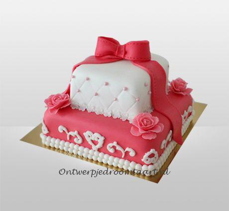 Verjaardagstaart romantisch