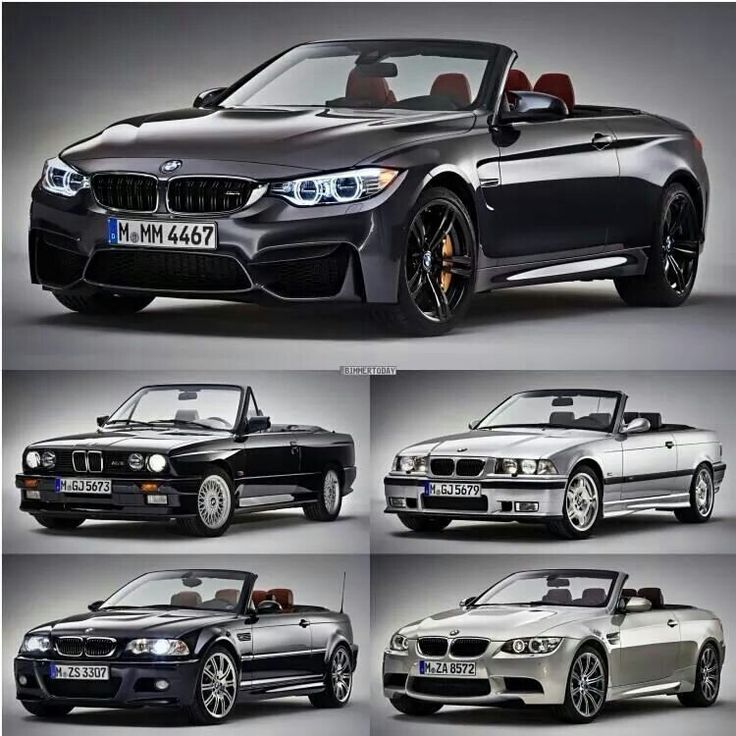 E Car >> The evolution of the 3 and 4 series cabriolet | BMW - Ultimate Driving Machine | Pinterest | BMW ...