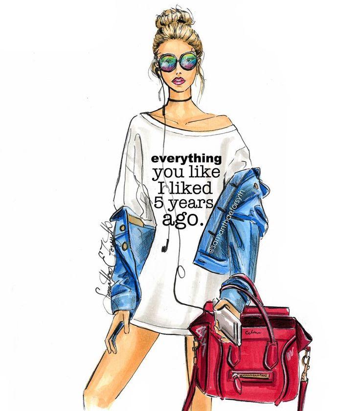 @samanthaeforsyth fashion illustration. Prints and cell phone cases available on etsy www.samanthaeforsythny.etsy.com