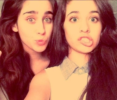 Camila Cabello and Lauren Jauregui