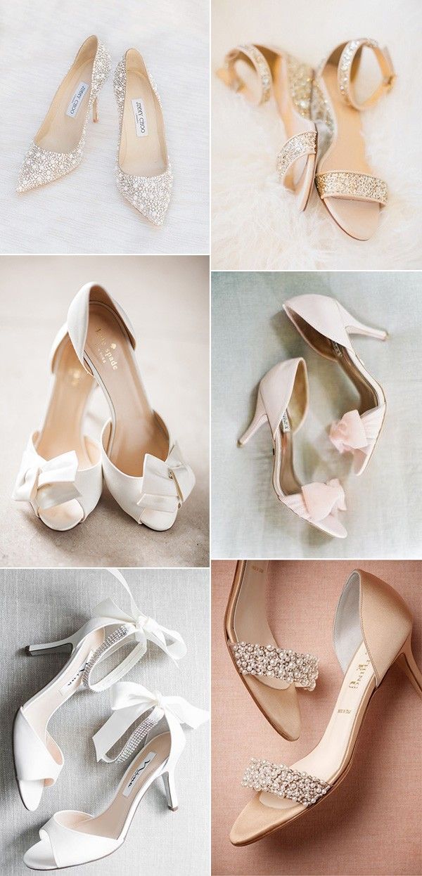 221ae18d0165 18 Trending Low Heel Comfortable Wedding Shoes for 2019