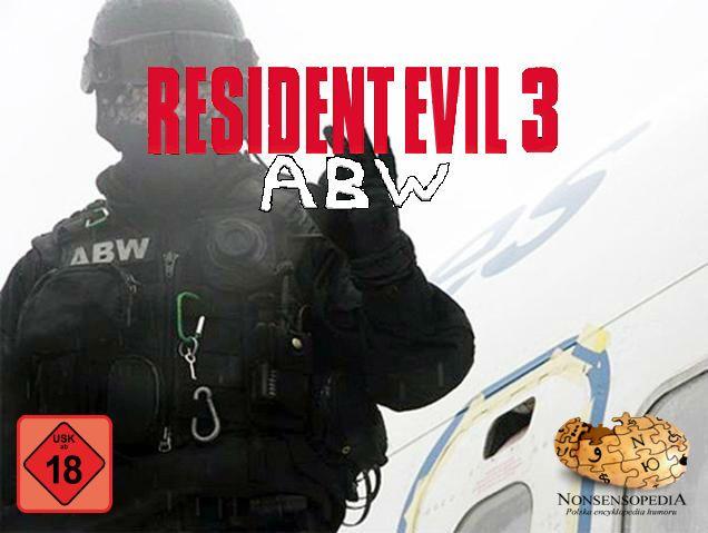 RESIDENT EVIL THREE: ABW