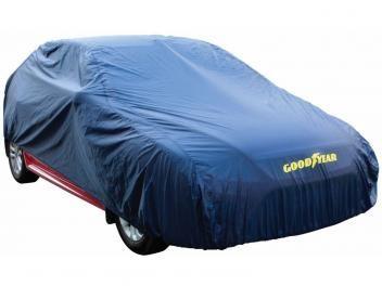 Capa para Carro Tam P com Forro Goodyear - GYCC 100 - S - de R$ 179,00 por R$ 79,90 - Capas para carro, ideal para qualquer modelo de carros de pequeno e médio porte, praticidade e na qualidade Goodyear.