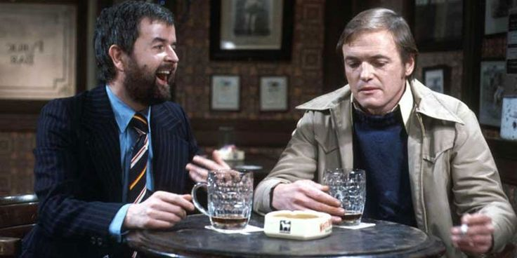 Rodney Bewes and James Bolam  The Likely Lads