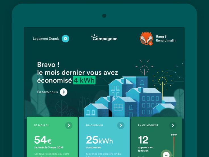 Smart Grid App by Dataveyes