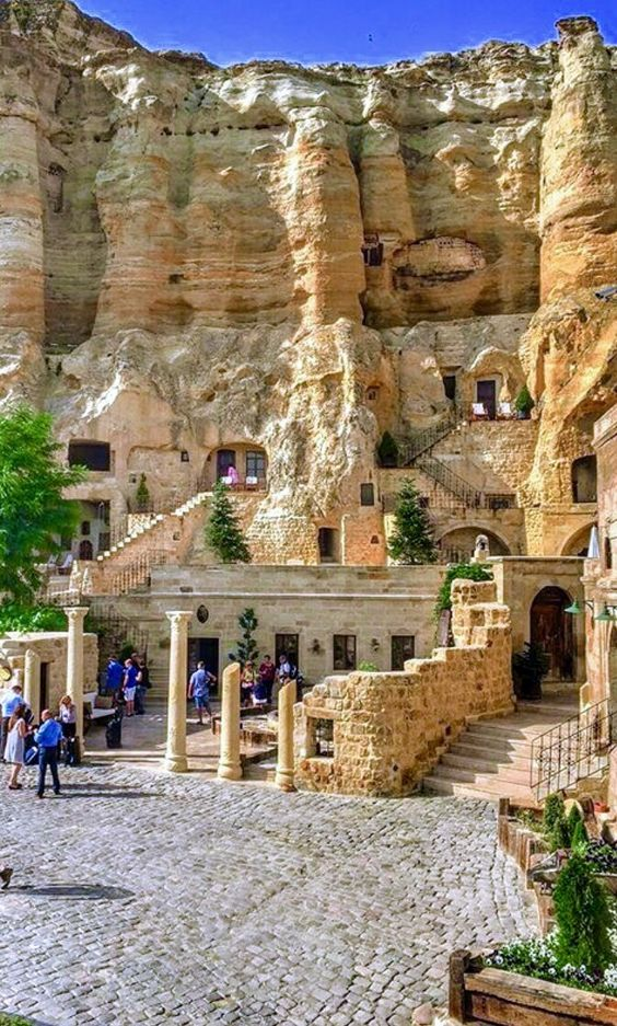 In Cappadocia, Turkey.