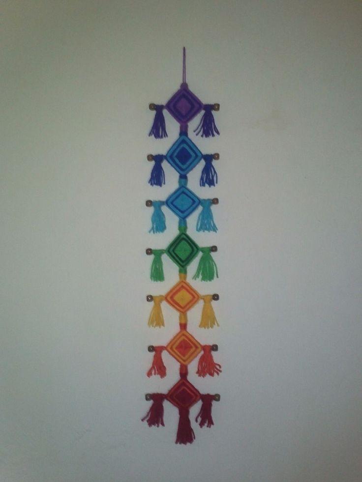 Ojos De Dios Para Equilibrar Los Chakras - $ 180.00