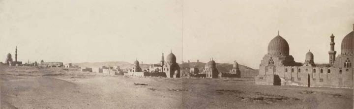 Tombeaux des califes, Le Caire, Egypt - 1861