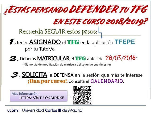 Calendario Uc3m.Si Eres Estudiante De Grado Del Campus De Leganes Y Quieres Defender