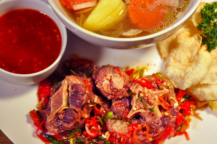 Javanese Spicy Oxtail