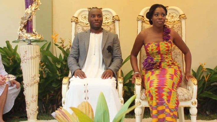 how to plan a traditional wedding in ghana