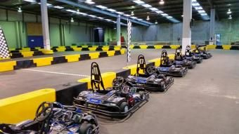 Daytona Raceway Wellington - go karts, paintball field, indoor 18 hole mini putt & ice skating