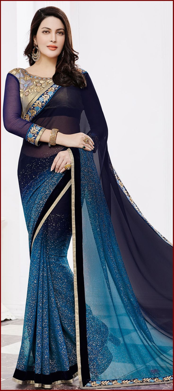 Pakistani Designer Sarees Collection For Girls #Designer #Sarees #PakistaniSaree