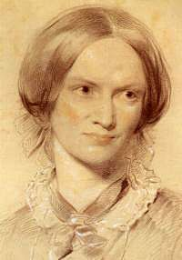 Today's literary lady is Charlotte Brontë (April 21, 1816 - 1855), famous for Jane Eyre