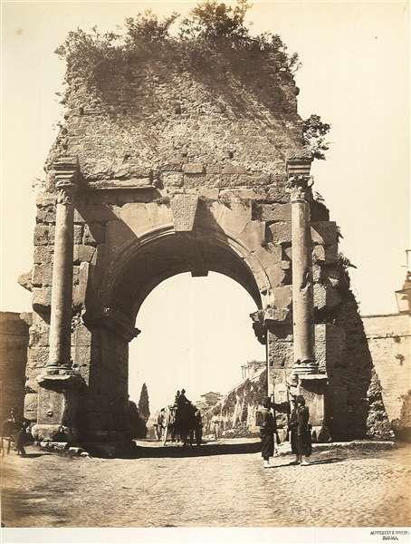 1860/65 Arco di Druso.