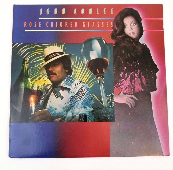 John Conlee ‎Rose Colored Glasses Vinyl Record 1978 LP Album AY-1105 ABC Records #SoftRock