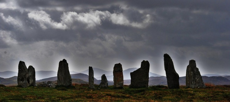 Callanish Stones on Isle of Lewis, Scotland   Landscapes | LESS BLATHER, MORE BITE