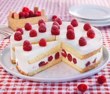 Himbeer-Joghurt-Torte