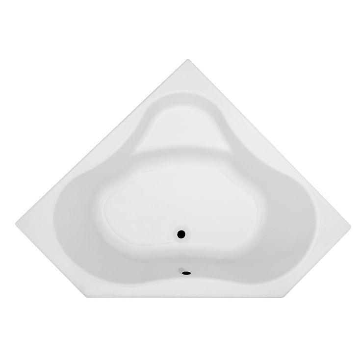 17 meilleures id es propos de baignoire d 39 angle sur for Petite salle de bain baignoire angle