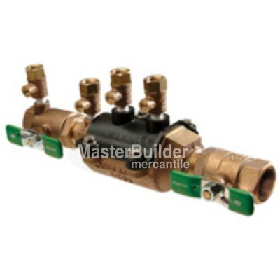 "Zurn Wilkins 350XL DCVA Double Check Valve Assembly Backflow Preventer Lead-Free (1/2"" - 2"")"