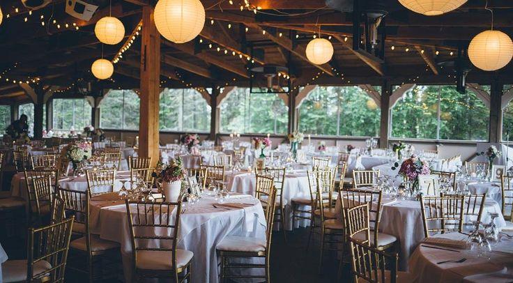 Beautiful summer wedding reception at Elk Ridge Resort, SK.  Marriage on the Pond - MJ&Co. Wedding Photographers